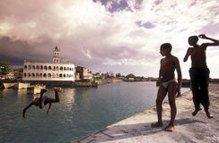 AFRICA COMOROS. The mosque in the city of Moroni in the Island of  Comoros in the Indian Ocean in Africa Stock Photo