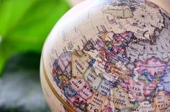 Africa del Nord del globo Fotografia Stock Libera da Diritti