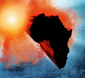 Africa design Royalty Free Stock Image