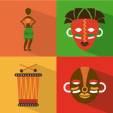 Africa design Royalty Free Stock Photos