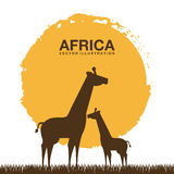Africa design Stock Photo