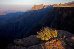 africa drakensberg góry południowe Obraz Royalty Free