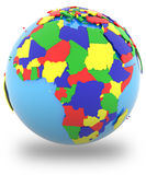Africa on Earth Stock Images