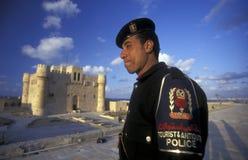 AFRICA EGYPT ALEXANDRIA CITY FORT QAITBEY Stock Photos