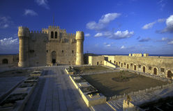 AFRICA EGYPT ALEXANDRIA CITY FORT QAITBEY Royalty Free Stock Image