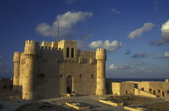 AFRICA EGYPT ALEXANDRIA CITY FORT QAITBEY Stock Images