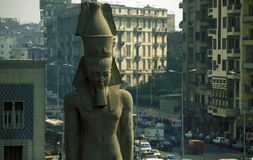 AFRICA EGYPT CAIRO CITY RAMSES royalty free stock photography