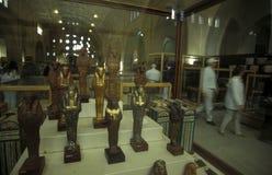 AFRICA EGYPT CAIRO EGYPTIAN MUSEUM Stock Image