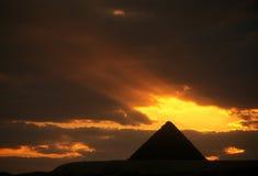 AFRICA EGYPT CAIRO GIZA PIRAMIDS Royalty Free Stock Image