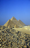 AFRICA EGYPT CAIRO GIZA PYRAMIDS Stock Photos