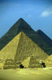 AFRICA EGYPT CAIRO GIZA PYRAMIDS. The pyramids pf giza near the city of Cairo the capital of Egypt in north africa Stock Photography