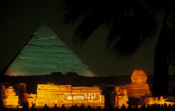 AFRICA EGYPT CAIRO GIZA PYRAMIDS Stock Photo
