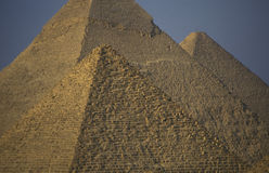 AFRICA EGYPT CAIRO GIZA PYRAMIDS Royalty Free Stock Photos