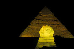 AFRICA EGYPT CAIRO GIZA PYRAMIDS Royalty Free Stock Photography