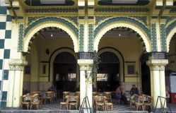 AFRICA EGYPT CAIRO OLD TOWN MARKET TEA HOUSE Royalty Free Stock Photo