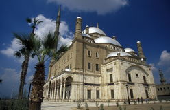 AFRICA EGYPT CAIRO OLD TOWN MOHAMMED ALI MOSQUE Royalty Free Stock Photography