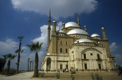 AFRICA EGYPT CAIRO OLD TOWN MOHAMMED ALI MOSQUE Stock Image