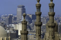 AFRICA EGYPT CAIRO OLD TOWN SULTAN HASSAN MOSQUE Royalty Free Stock Photos