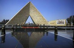 AFRICA EGYPT CAIRO SADAT MONUMENT stock photos