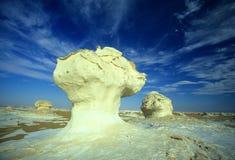 AFRICA EGYPT SAHARA WHITE DESERT Royalty Free Stock Photos