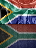Africa flag Royalty Free Stock Photography