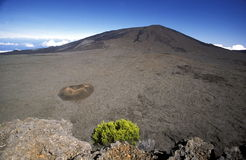 AFRICA FRANCE LA REUNION. The Landscape allrond the Volcano Piton de la Fournaise on the Island of La Reunion in the Indian Ocean in Africa stock photography