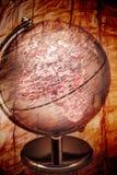 Africa Globe Stock Photo