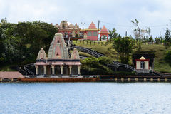 Africa, Grand Bassin indian temple in Mauritius Island Stock Photography
