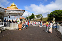 Africa, Grand Bassin indian temple in Mauritius Island Stock Photos