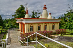 Africa, Grand Bassin indian temple in Mauritius Island Stock Photo