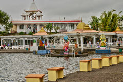 Africa, Grand Bassin indian temple in Mauritius Island Royalty Free Stock Photography