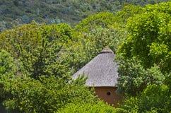 Africa, hidden round hut Stock Images