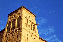 africa  in histoycal maroc  old moon Royalty Free Stock Photos