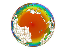 Africa hot climate concept Stock Photography