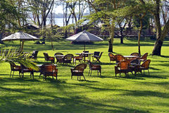 Africa. Hotel in the suburbs of Lake Naivasha. Kenya. Africa Royalty Free Stock Photos