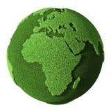 africa jordklotgräs royaltyfri illustrationer