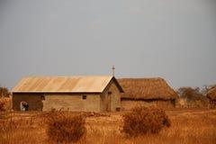 africa kościół chrześcijański Zdjęcia Royalty Free