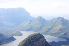 Africa Landscape. Landscape in South Africa of mountains Stock Image