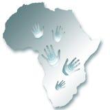 africa mapa Obrazy Royalty Free
