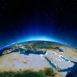 Africa and Mediterranean Stock Image