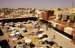 AFRICA MOROCCO MARRAKESH Stock Images