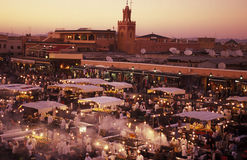 AFRICA MOROCCO MARRAKESH Royalty Free Stock Images