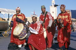 AFRICA MOROCCO MARRAKESH Royalty Free Stock Photo