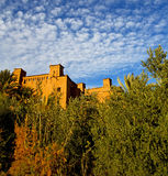 Africa in morocco the old contruction and the historical village Royalty Free Stock Images