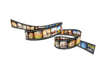 Africa movie Royalty Free Stock Images