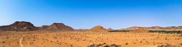 Africa, Namibia, Landscape, Dry Stock Images
