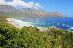 africa near berömda kanonkopberg den pittoreska södra fjädervingården arkivfoto