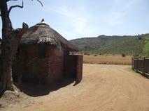 africa near berömda kanonkopberg den pittoreska södra fjädervingården Royaltyfri Bild