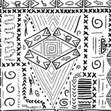 Africa pattern stock illustration