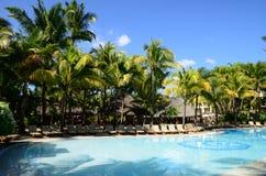 Africa, picturesque area of La Pointe Aux Canonniers in Mauritiu Stock Photo